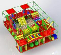 Детские игровые комплексы (комнаты, лабиринты)