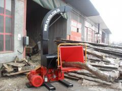 Drewno DP660E chipper, shheporez (Rębak)