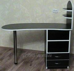 Receptions, show-windows, manicure tables,