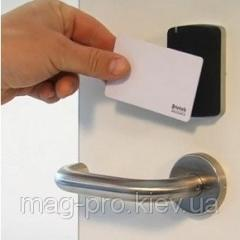 The Mifare card for the electronic lock