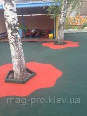 Бесшовные резиновые покрытия для детских и