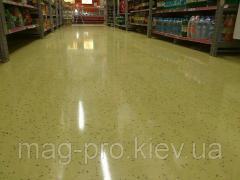Acrylic floor fillers