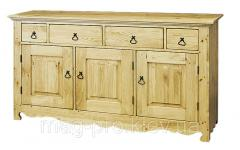 Furniture made of natural wood
