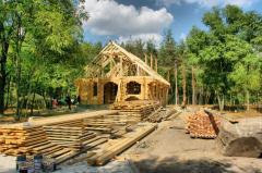Turnkey wooden house Kharkiv