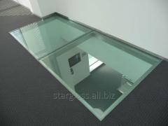 Schody, podłogi szklane