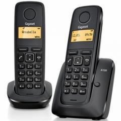 DECT Gigaset A120 DUO Black phone