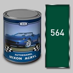 Acrylic Mixon Acryl autoenamel, Cypress 564, 1 l