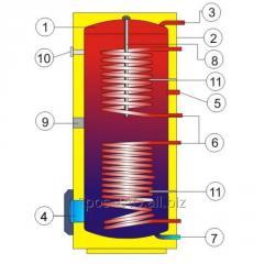 Фланец для монтажа электрического нагревателя