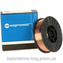 Wire welding copperplated Magmaweld MG-2, of 1,2