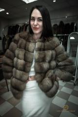 Sable fur coat poperechka