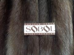 Fur of a sable