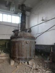 The stainless steel  reactor 5 m³