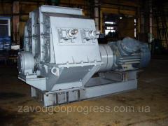 Молотковая дробилка ДМПП 8х6 с подвижной дробящей