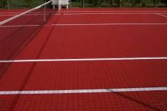 Universal floor plastic sports modular covering