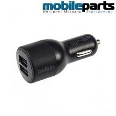 Автомобильное Зарядное устройство Belkin F8J070 Micro-USB 2USB