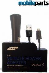 Автомобильное Зарядное устройство Samsung ACADU300CBE Micro-USB (Оригинал) (В блистере)