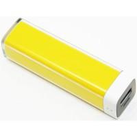 Внешний аккумулятор (power bank) Lipstick 2600 mAh(yellow)