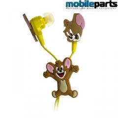 Детские вакуумные наушники для mp3, телефона Tom &amp- Jerry