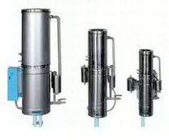 Equipment for distillation (distillers laboratory,