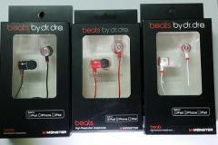 Beats Tour earphones
