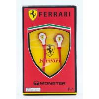 Наушники вакуумные Monster Ferrari F-1 (red,White)