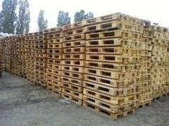 Purchase and sale of wooden second-hand pallets