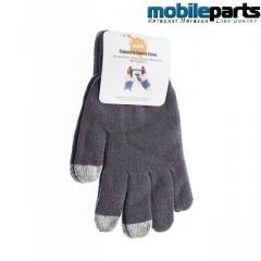 Перчатки для сенсорных экранов GLove 5 Touch (Серый)
