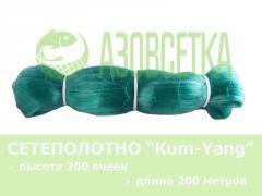 Сетевое полотно Kum-Yang (Кум-Янг) из монолески,