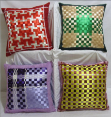 Gifts of handwork, pillowcase on throw pillows