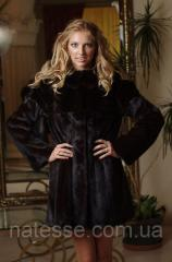 Jackets from mink fur
