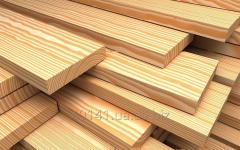 Board wooden production, board of different breeds