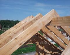 Стропила деревянная на дом,  экспорт...