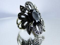 Ажурное женское кольцо 00167К