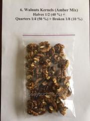 Орехи грецкие Walnats Kernels (Amber Mix)