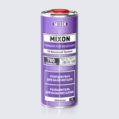 Base thinner metallic of Mixon Thinner 780, 1 of l