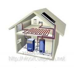 Hot-water heating systems, for individual use