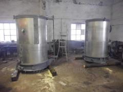 Vacuum-evaporating equipment for food industry