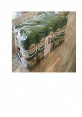Edible salt in paper pack on 1,5 kg