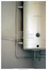 Газовые котлы, газовые колонки, бойлеры, радиаторы