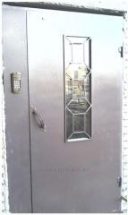 Steel access doors