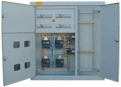 Board floor the ShchE type - 0,4 for distribution