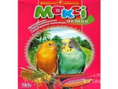 Food for parrots