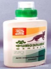 Шампунь Фитоэлита для короткошерстных кошек 220