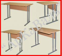 School school desks and chairs from the producer