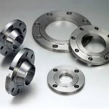 Flange from stainless steel
