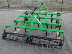 Cultivator for continuous tillage