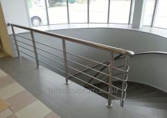 Metallic hand-rails
