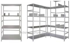 Metallic  shelvings