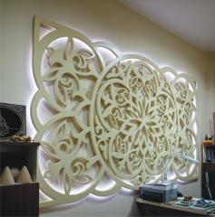 Panels for holiday illumination