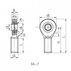 Подшипник CRAFT SAL14-T/K.CRF-P